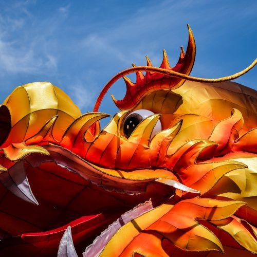 Dragon mascotte